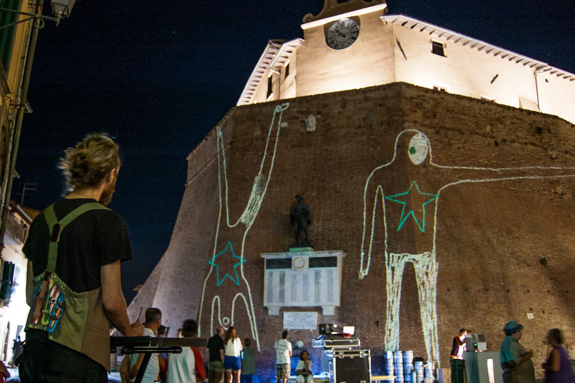 Disegno segni — Festival Collinarea/Lari, Pisa, 2012
