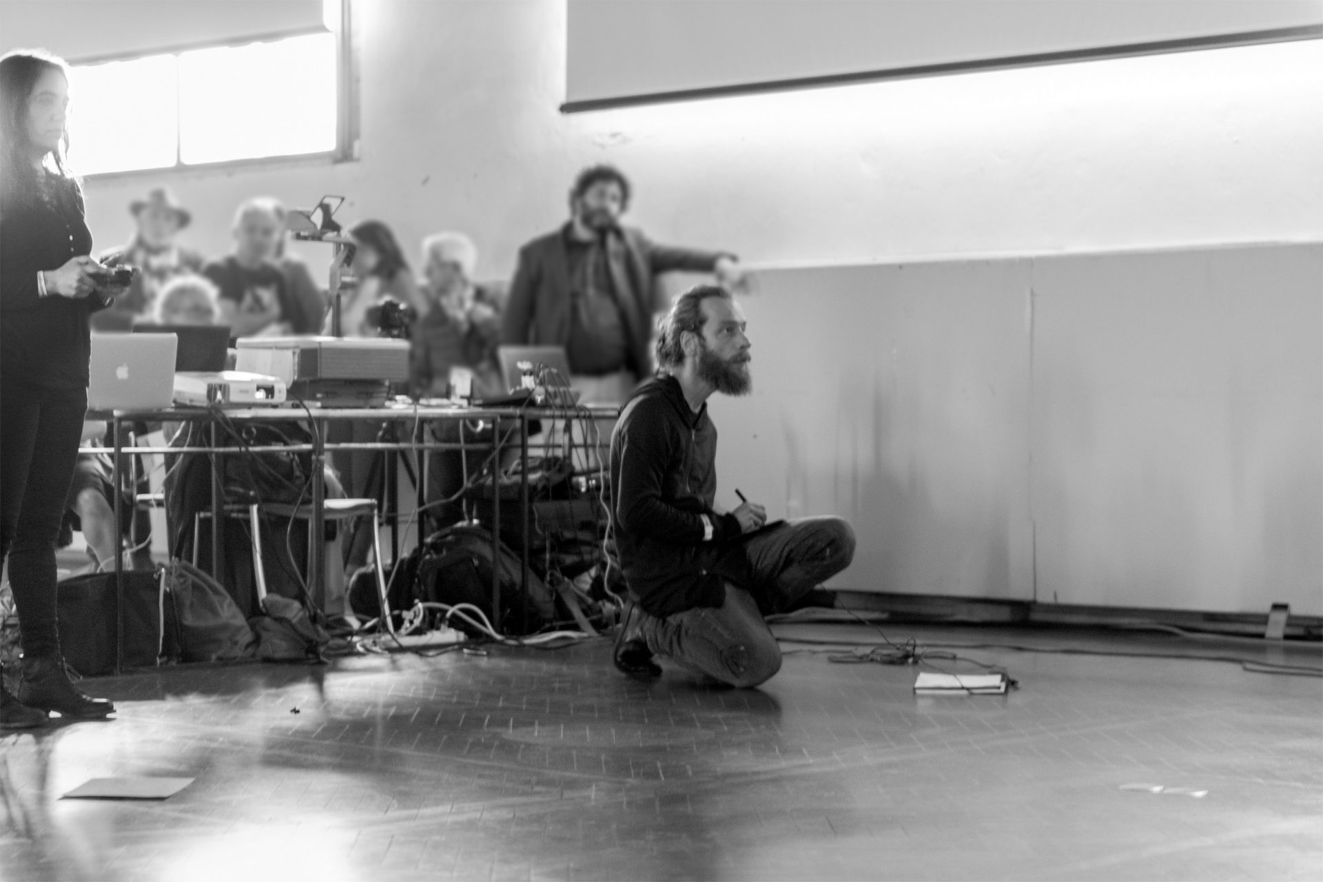Mitopoiesi 001 — feat. Roberto Paci Dalò, Biennale Disegno Rimini, Sala Arengo/Rimini, 2016