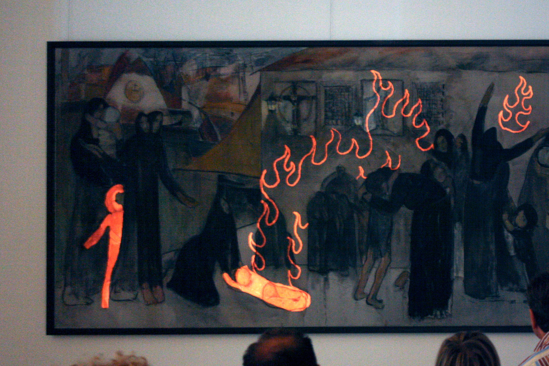 Strati Graphie — feat. Cabiria, Museo GAMC/Viareggio, 2011