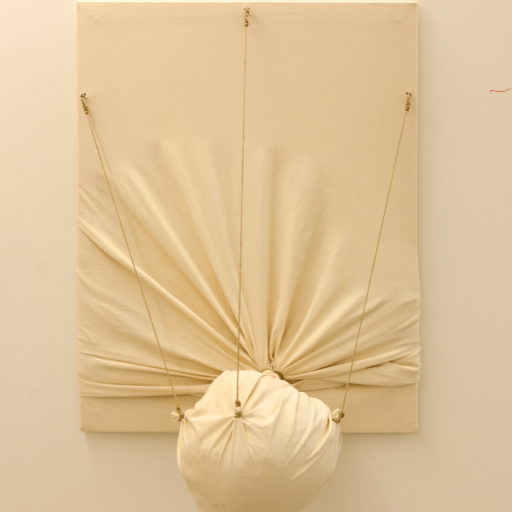 Deformation, sculpture canvas, 2012