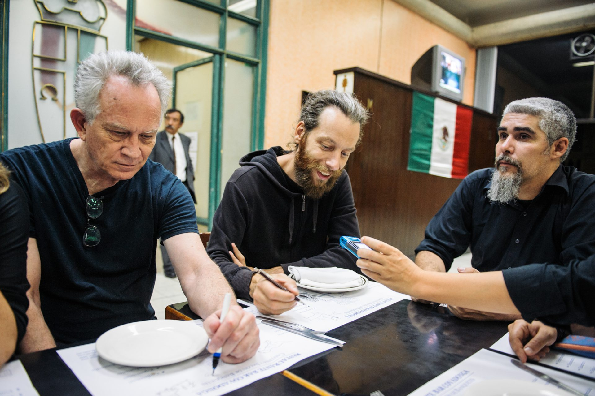 Gary Panter, Dani & Jorge Alderete — Covadonga/Mexico City, 2012 | (photo courtesy Marcelo Prieto)