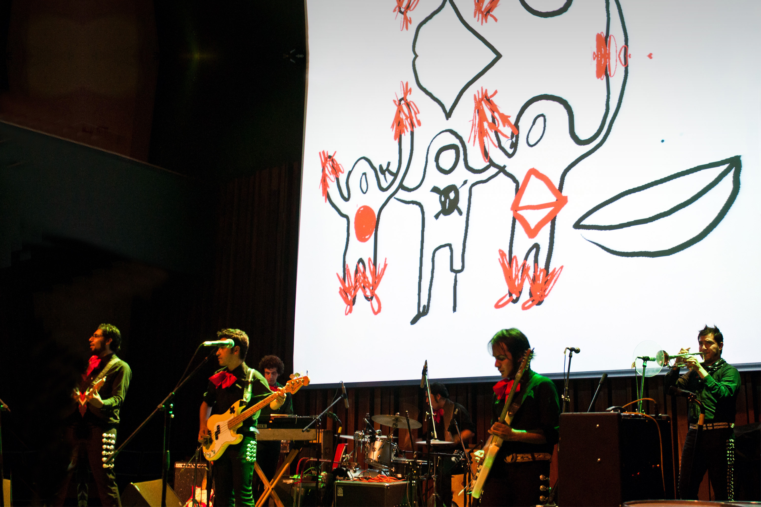 Drawingalive — feat. Twin Tones, CCE/Mexico City, 2012