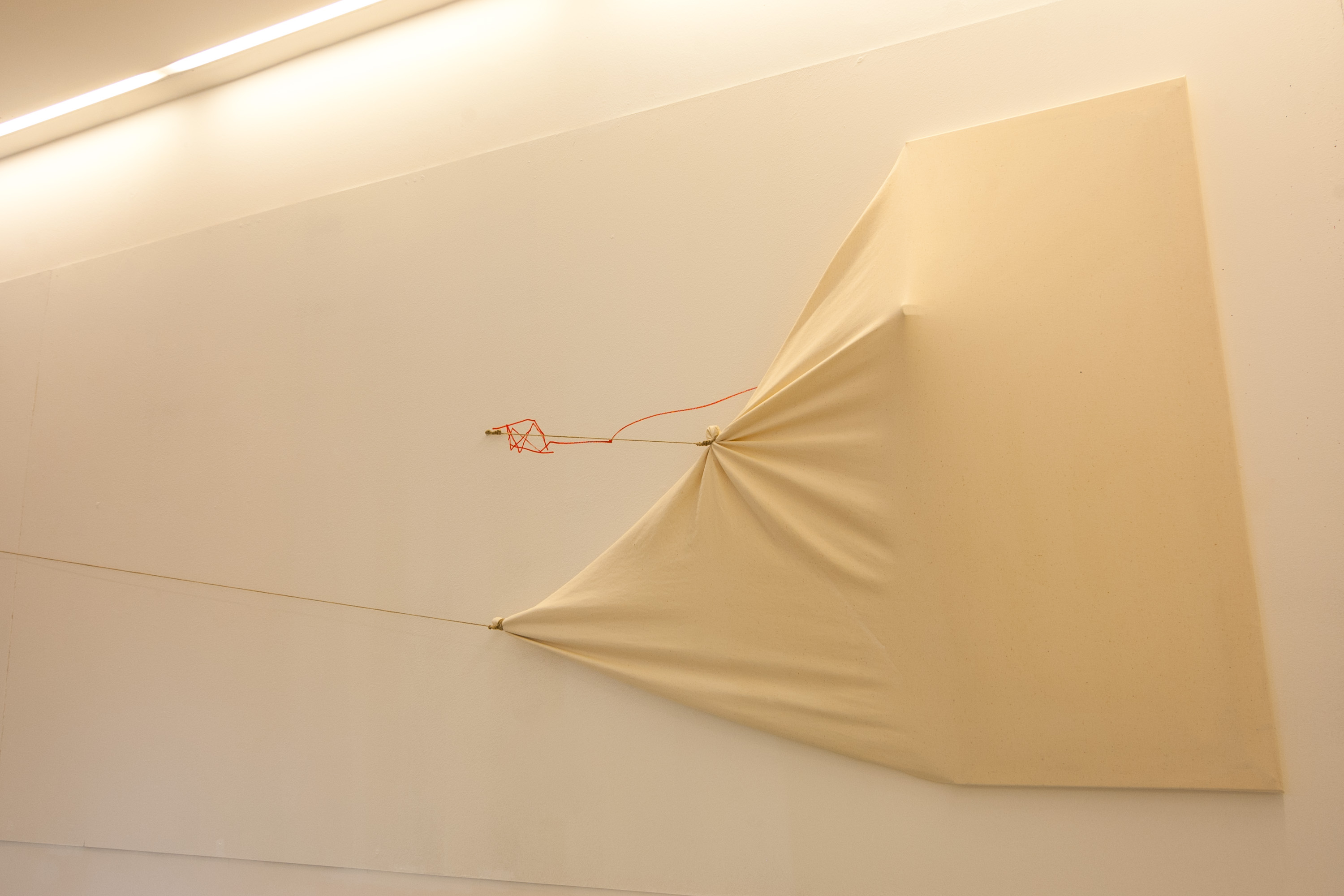 Wind, sculpture canvas, 2012