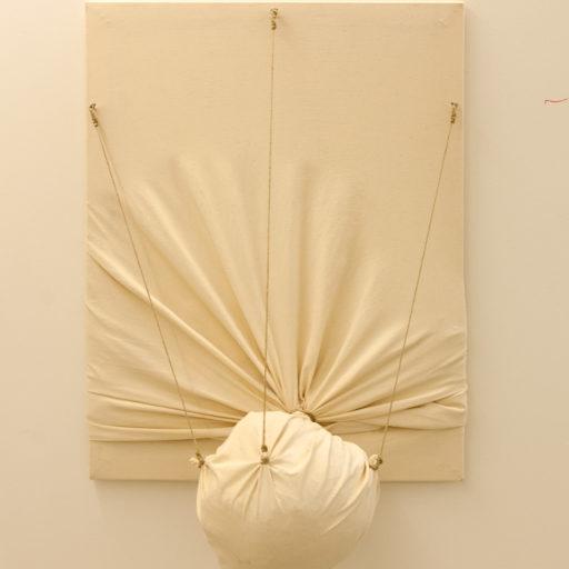Deformation, sculpture canvas, 2012